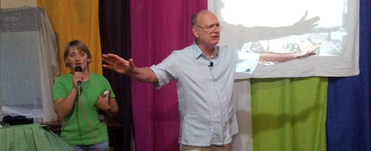 Pastor Ted in Bolivia